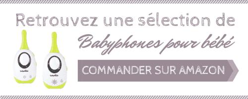 sélection babyphone audio pour bébé à acheter