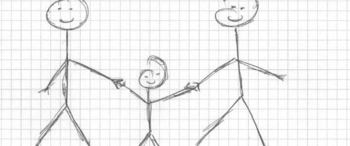les gays et l'adoption d'un enfant