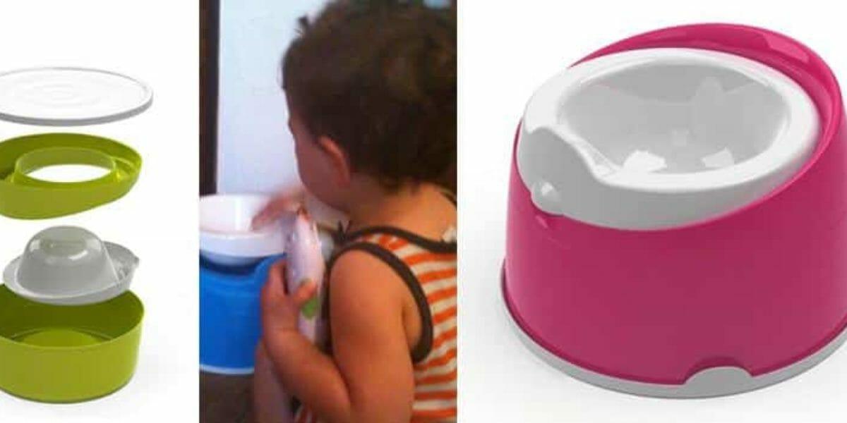 test et concours d'un petit pot pour bébé de la marque Menno