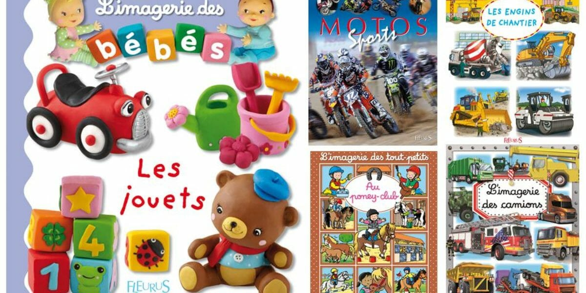 Imageries Fleurus, des livres pour les enfants