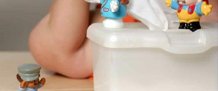 Les lingettes pour bébé sont-elles toxiques
