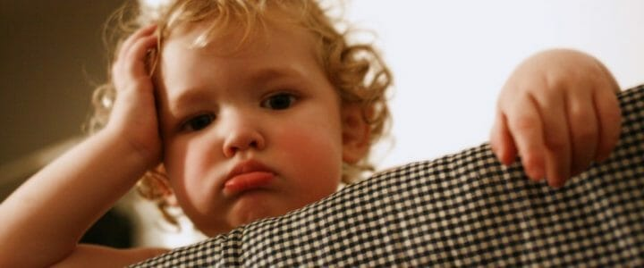 apprentissage du langage : bébé, dépité !