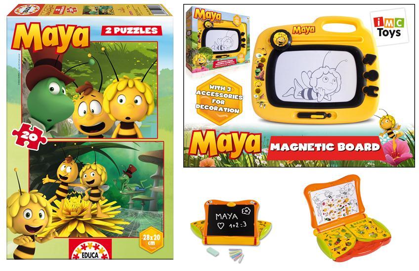 Maya l'abeille, les jouets