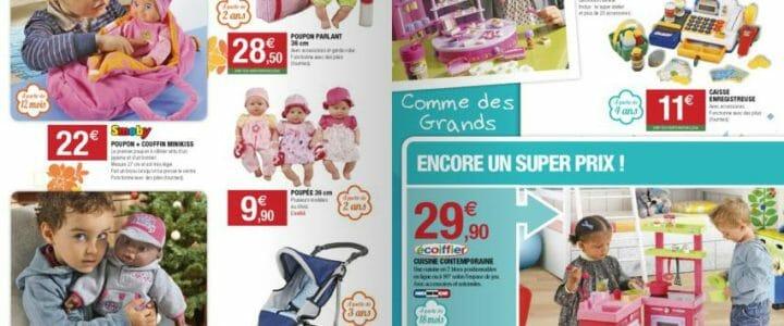 Jouets de Noël, catalogue super u
