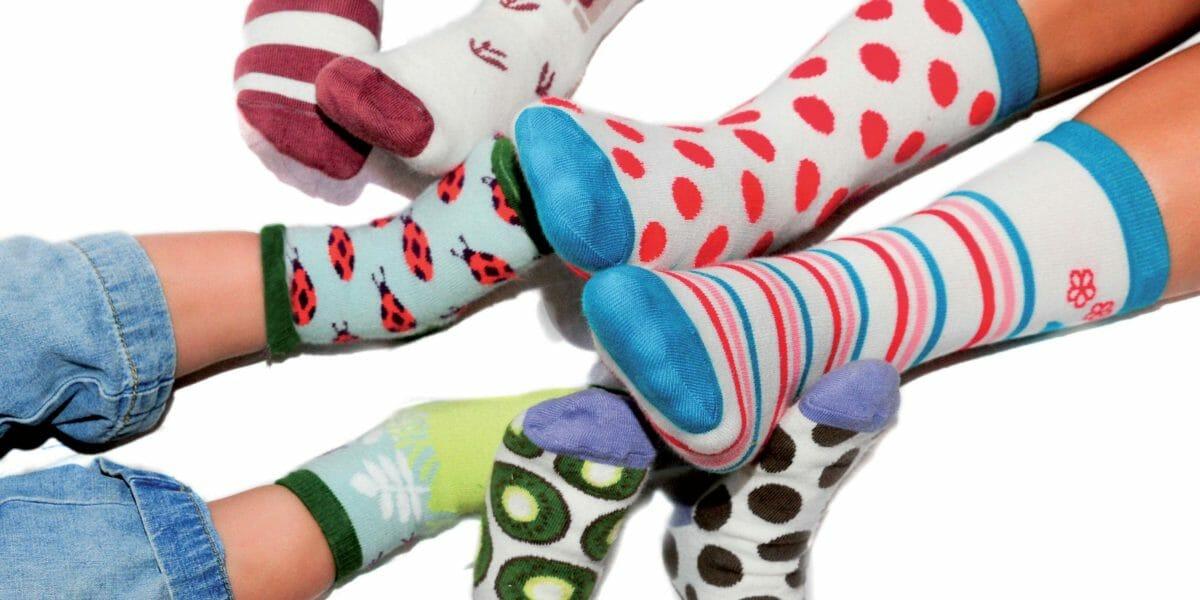 DesPasrayés, chaussettes pour enfants
