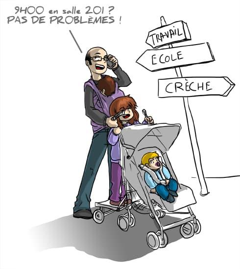 Etre papa en 2013 : Papa Cube