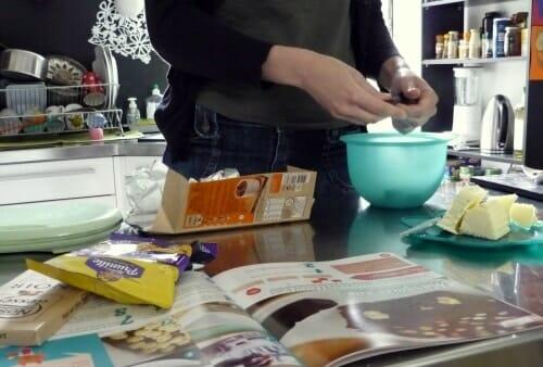 box cuisine : gastronomiz lance Les P'tits Gourmands - test recette marquise