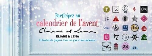 Eliane et Lena, jeu de l'avent sur Facebook