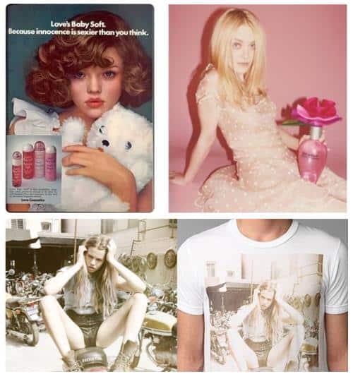 Enfant dans la publicité : love cosmetics, Urban Outfitter et Marc Jacobs