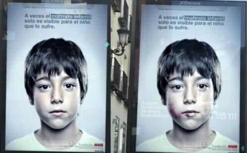 Enfant dans la publicité : fondation Anar contre la maltraitance