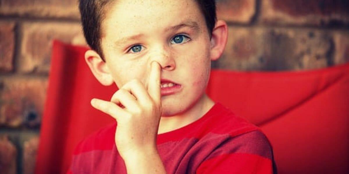 les habitudes bizarres de nos enfants