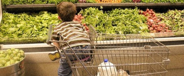 9 astuces pour faire les courses avec les enfants