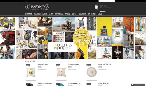 Babynoos : boutique de puériculture pour bébés chics et tendances