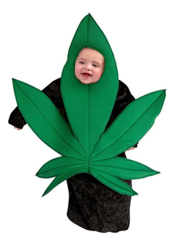 Pires déguisements pour enfants : cannabis