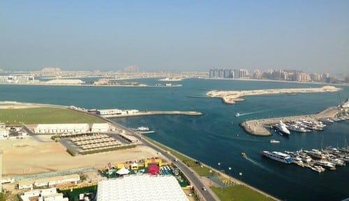 Dubaï - vue sur the palm