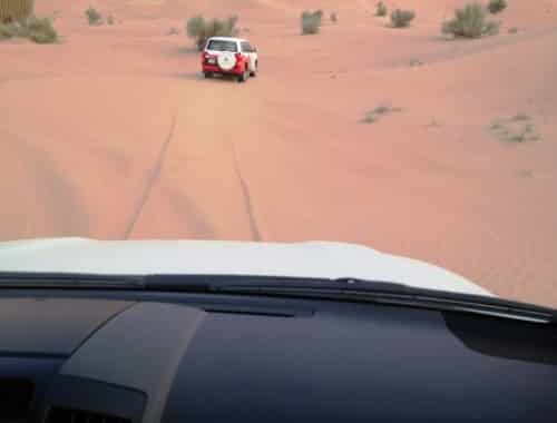 dubai desert- safari dans les dunes