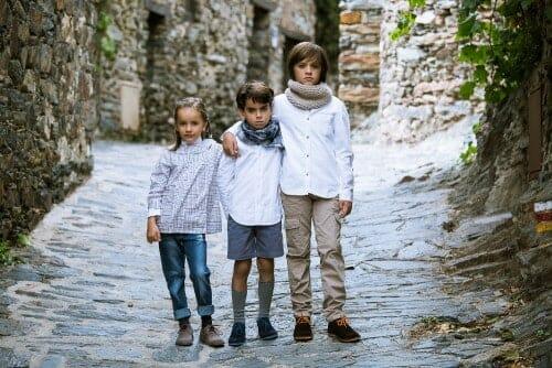 chaussures blucher enfants