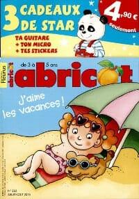 magazine pour enfant Abricot