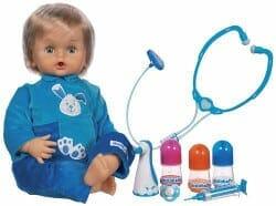 Le bébé malade Cicciobello