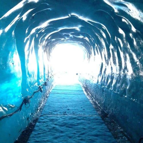 vacances à Chamonix : la mer de glace