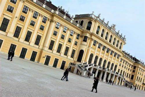 Vienne avec des enfants - chateau de schonbrunn