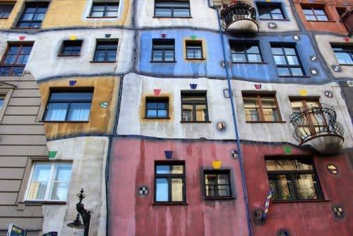 Maison Hundertwasser à Vienne Autriche