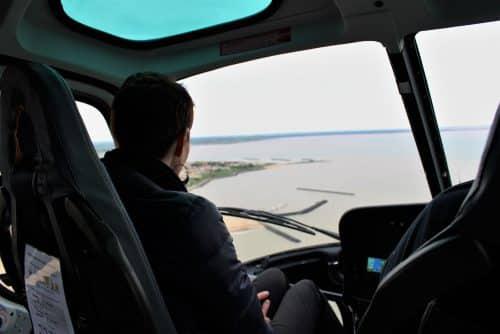 baptême en hélicoptère avec Héliberté La Rochelle