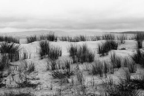Dune du Pilat depuis la pointe du Cap Ferret