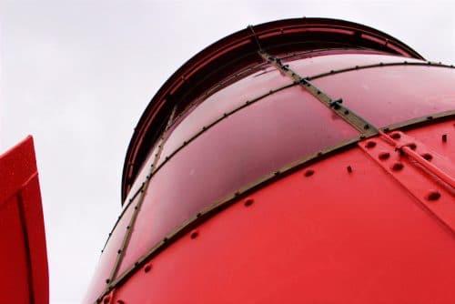 Le phare du Cap Ferret sur le bassin d'Arcachon