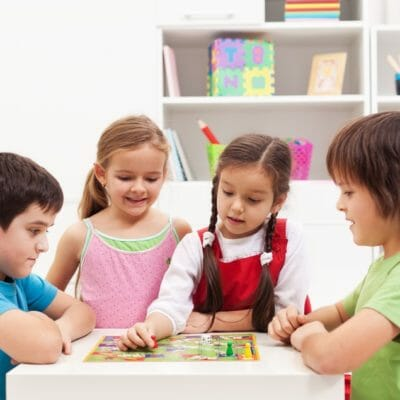sélection de jeux de société pour enfants