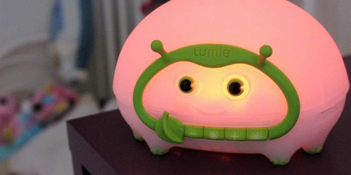 Lumie Bedbug : lampe de chevet et veilleuse enfant