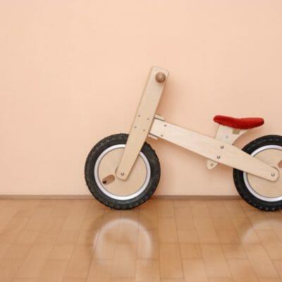 sélection shopping - draisienne en bois pour enfant