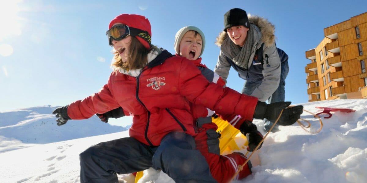 vacances en famille avec VTF Alpe d'Huez