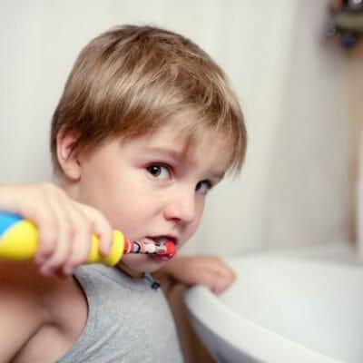 sélection de brosse à dents électrique pour enfants