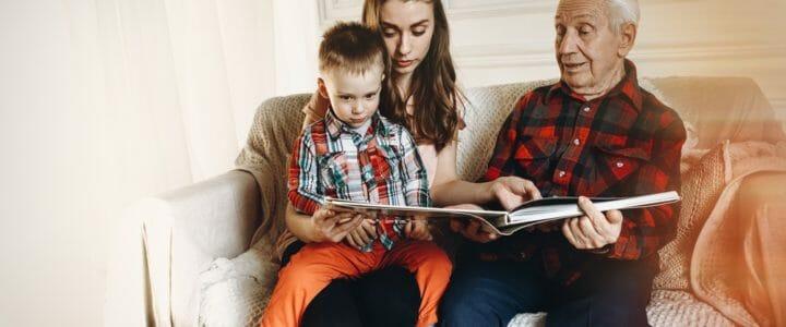 réaliser un album photo de famille