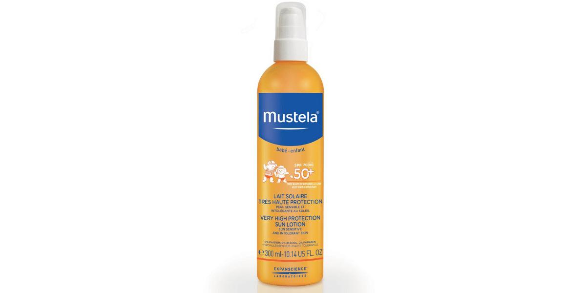 Crème-solaire-Mustela-Bébé-enfant-50+