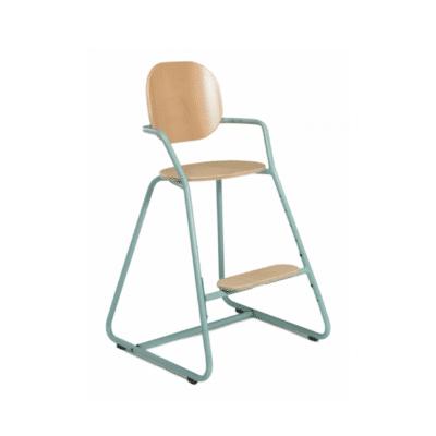 chaise haute bébé Tibu marque Charlie Crane