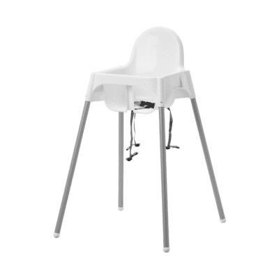 chaise haute bébé blanche marque Ikea Antilop