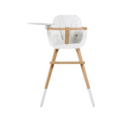 chaise haute bébé blanche marque Micuna