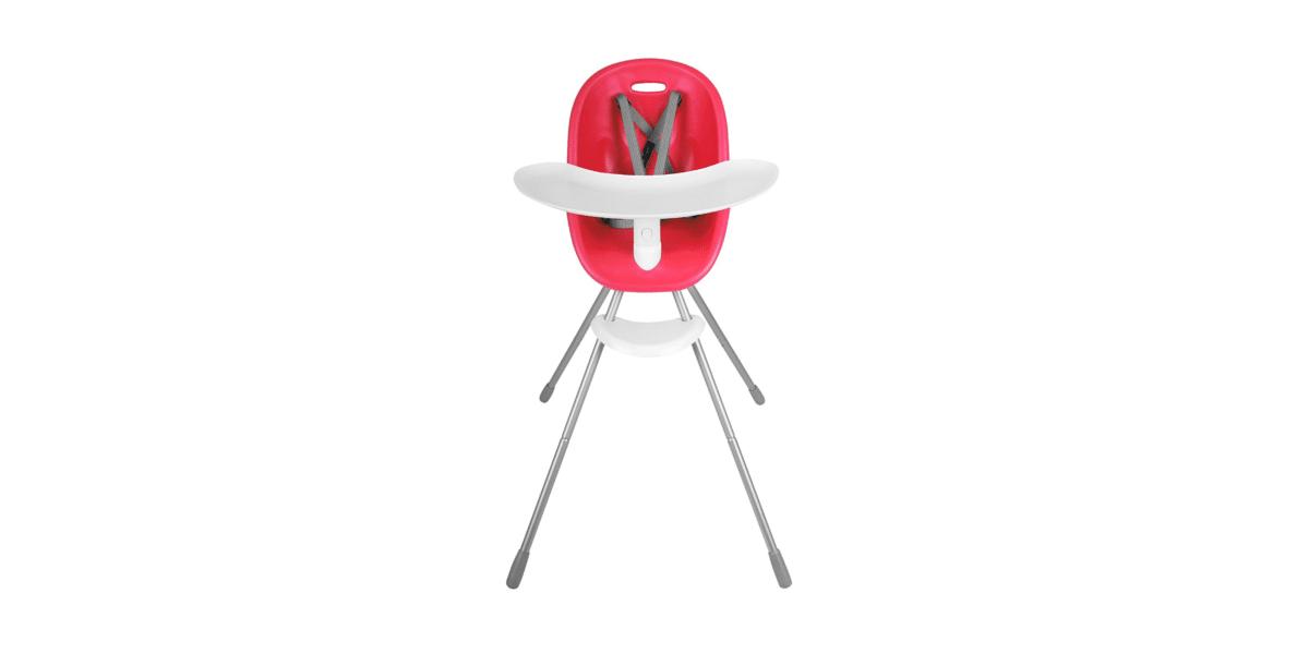 chaise haute bébé rouge marque Phil and Teds