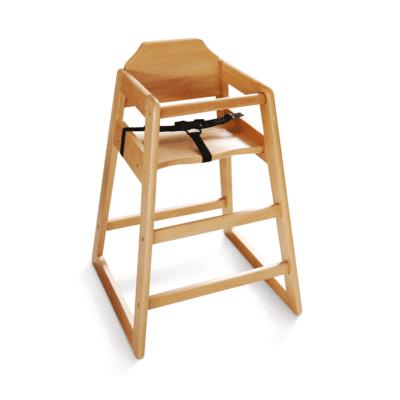 chaise haute en bois pour bébé marque Welcome Family