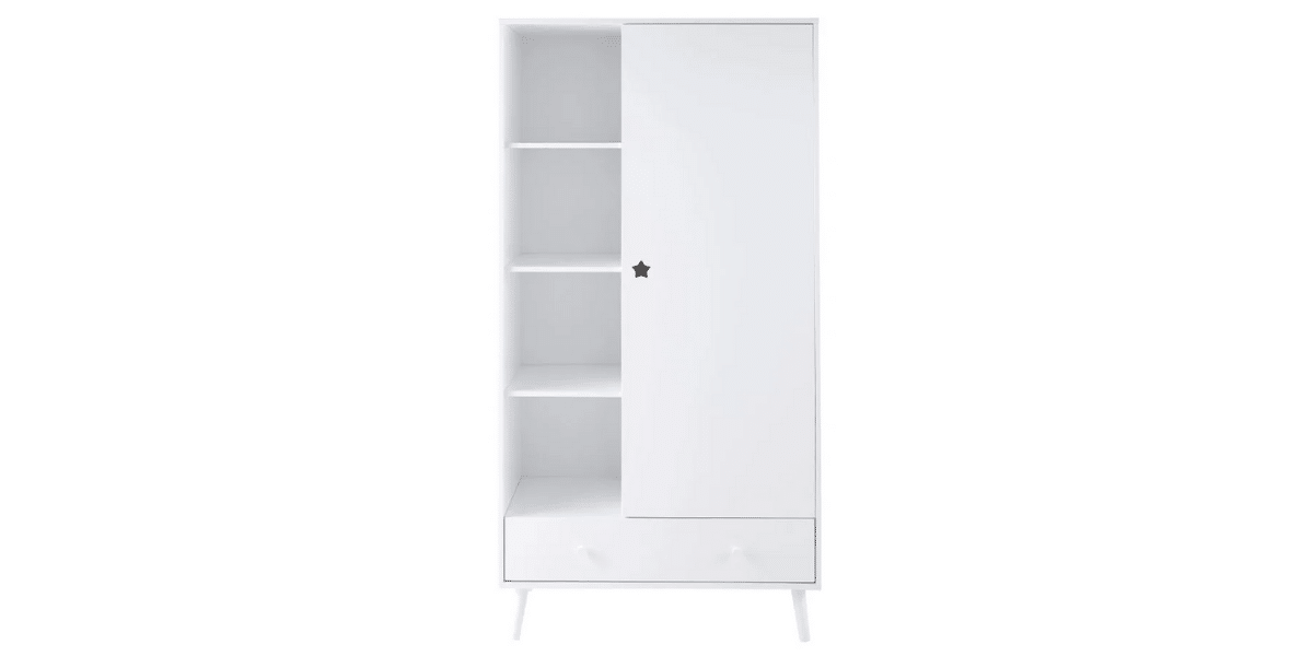 Dressing-enfant-Dreams-blanc-1-porte-1-tiroir