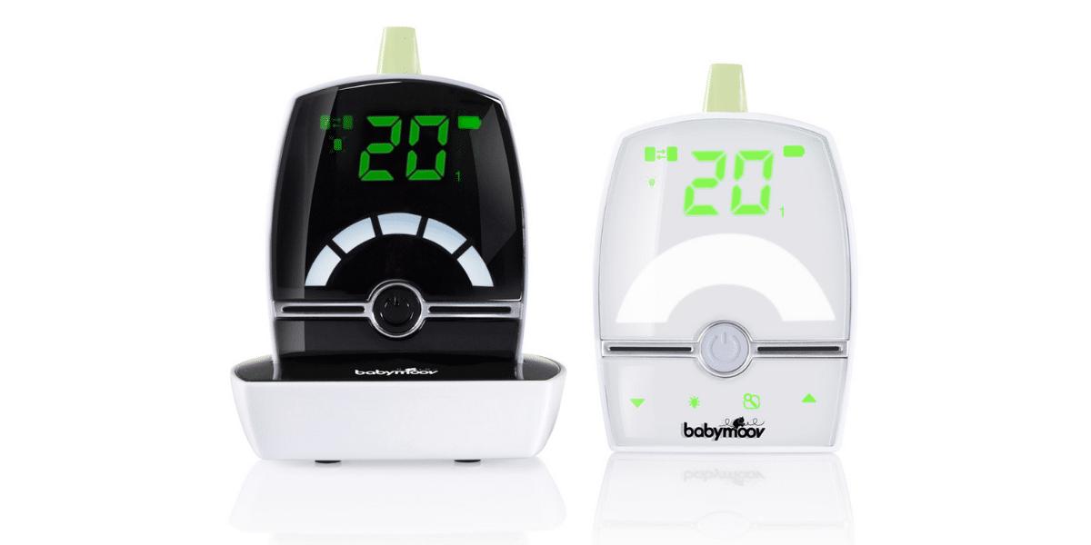 babyphone audio numérique noir et blanc marque Babymoov