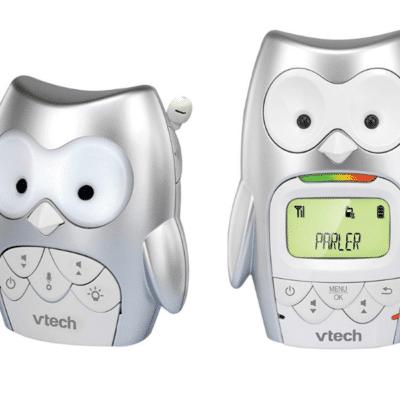 babyphone-audio-hibou-marque-VTech
