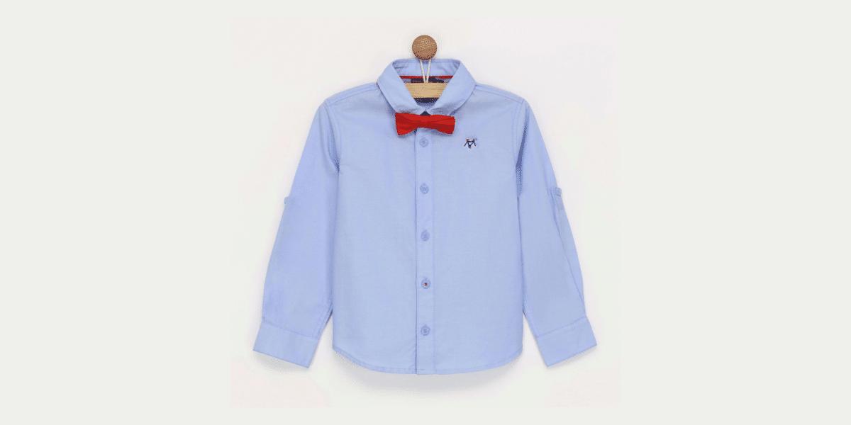 chemise bleue enfant marque Sergent Mayor