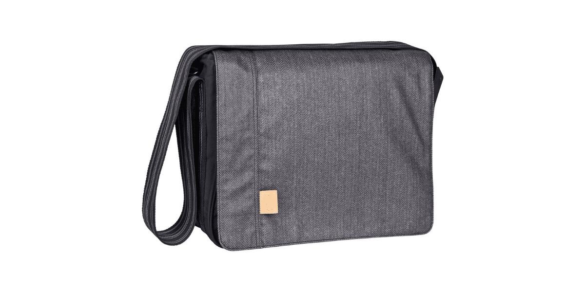 Sac-a-langer-gris-Messenger-bag-marque-Lassig
