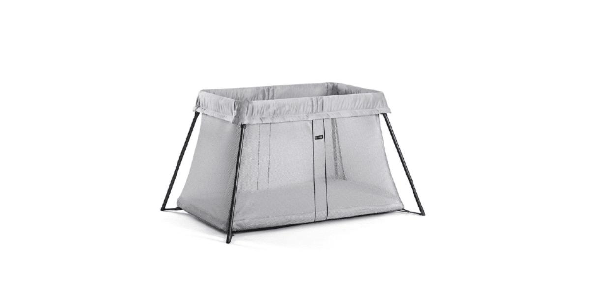 lit-parapluie-babybjorn-light gris pour bébé