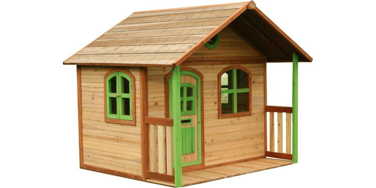 cabane en bois Axi Milan en cèdre pour enfant