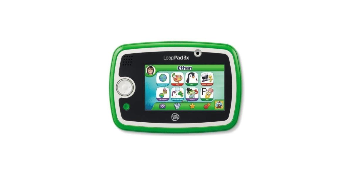 tablette-enfant-leapfrog-tablette-tactile-leappad-3x-verte