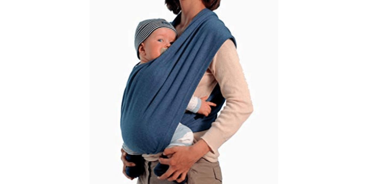 Echarpe-de-portage-sans-nœud-Carry-Baby-Amazonas